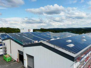 Spedition Lüdenscheid 463,9 kW pFirst-Solar Module 4400 Stück GS 230 W Module 630 Stück