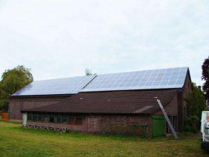 Kerken 28,8 kWp Yingli 180 W Module 160 Stück