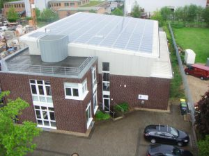 Bürogebäude Kempen 54,51 kWp Eging 237 Stück 230W Module